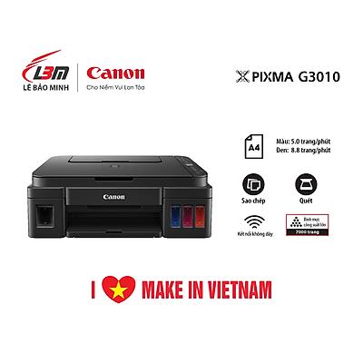 Máy in Phun đa năng Canon G3010- Hàng chính hãng