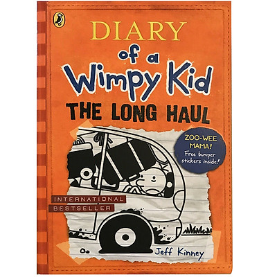 Truyện thiếu nhi tiếng Anh - Diary Of A Wimpy Kid 09: The Long Haul (Paperback)