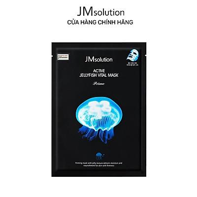 Mặt Nạ Sứa Biển JMsolution Active Jellyfish Vital Mask, Thanh Lọc, Giải Độc Da 33ml