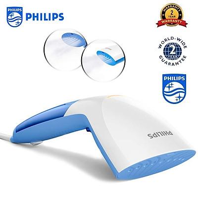Bàn ủi (là) hơi nước cầm tay Philips GC300 diệt tới 99,9% vi khuẩn - Công suất 1000W - HÀNG NHẬP KHẨU