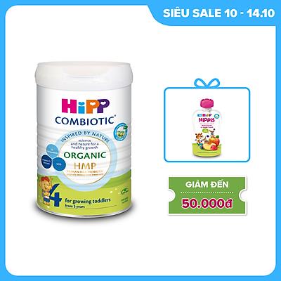 Sữa bột công thức HiPP 4 Organic Combiotic 800g
