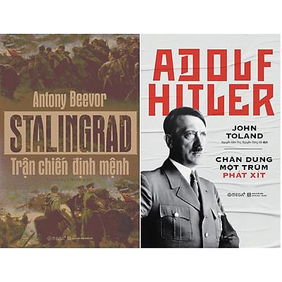 Combo Chiến Tranh Thế Giới Thứ 2: Một Trận Chiến Định Mệnh Và Một Nhà Độc Tài Tiêu Biểu ( Stalingrad: Trận Chiến Định Mệnh + Adolf Hitler: Chân Dung Một Trùm Phát Xít ) (Tặng Notebook tự thiết kế)