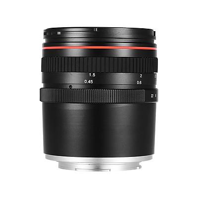 50mm F/1.4 Large Aperture Portrait Manual Focus Camera Lens Low Dispersion For Sony E Mount A7 A7M2 A7M3 Nex 3 5N 5R 5T - Black