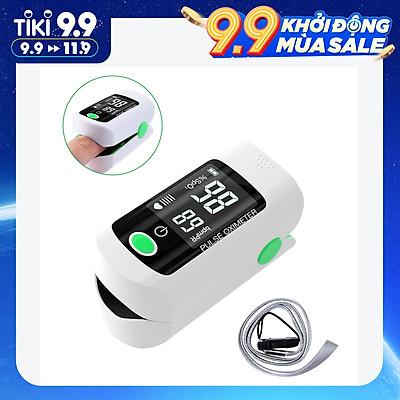 Máy đo nồng độ oxy trong máu bằng đầu ngón tay màn hình PR 8S đo nhanh Fingertip Pulse Oximeter Blood Oxygen