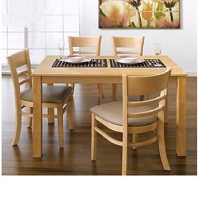 Bộ bàn ăn 4 ghế gỗ HTP-BA 807