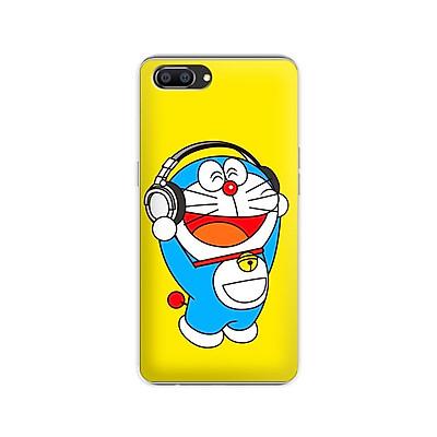 Ốp lưng dẻo cho điện thoại Realme C1 - 01184 7863 DRM07 - In hình Doremon - Hàng Chính Hãng
