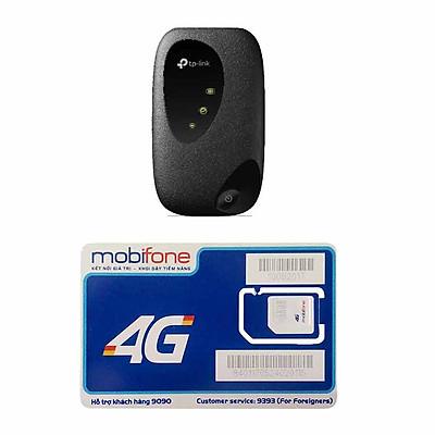 Bộ Phát Wifi TP Link M7200 4G Mới Nhất + Sim 4G Mobifone Khuyến Mãi 60GB /Tháng - Hàng Chính Hãng