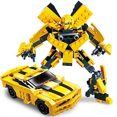 Bộ Đồ Chơi Cho Bé Thỏa Sức Sáng Tạo Lắp Ghép Robot Biến Hình Transformers Siêu Ngầu 8711