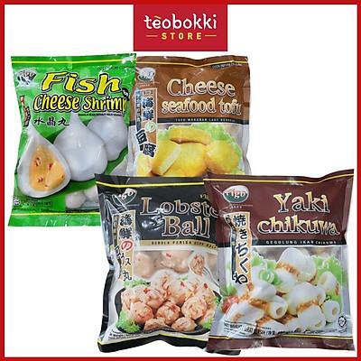 Viên thả lẩu Figo (đậu hủ phô mai/tôm viên/chả cá chikuwa)