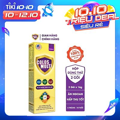 Sữa bột Colosmulti Pedia hộp 2 gói x 16g chuyên biệt giúp bé ăn ngoan - MẪU THỬ