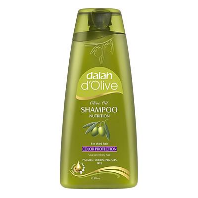 Dầu Gội Oliu Cho Tóc Nhuộm Dalan D'Olive Shampoo Nutrition Color Protection (400ml)