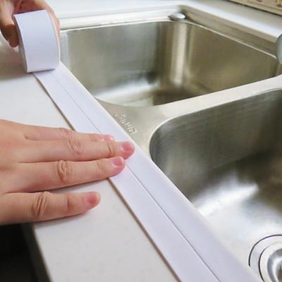 Băng keo dán chống thấm nước bồn rửa chén, bếp, nhà vệ sinh [Tặng dây cột tóc hoa mặt trời ngẫu nhiên]