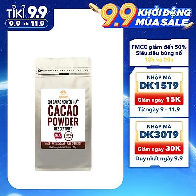 Bột CaCao Nguyên Chất 100% DK Harvest 100g, 200g, 500g