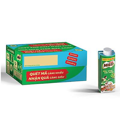 Thùng 24 Hộp Sữa Lúa Mạch Nestlé Milo Teen Bữa Sáng (24 x 200ml) - [Phiên Bản Scan Mã Đổi Quà]