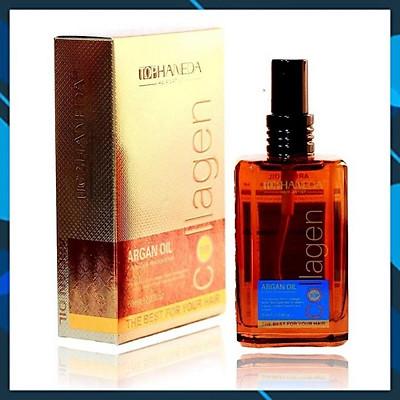 Tinh dầu Top Haneda Argan Oil dưỡng tóc khô hư tổn 60ml - Hàng chính hãng