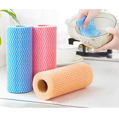 Cuộn khăn lau nhà bếp đa năng 50 miếng