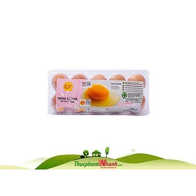 [Chỉ Giao HCM] - Trứng gà CP loại 2 - Khay 10 trứng