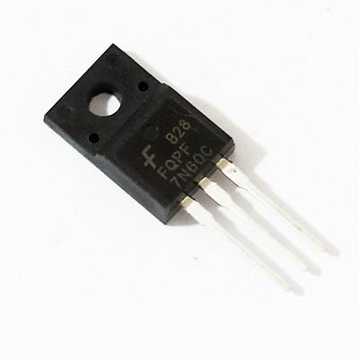 MOSFET 7N60 TO-220 7A 600V N-CH Nhỏ Gọn, Tiện Lợi - Hàng nhập khẩu