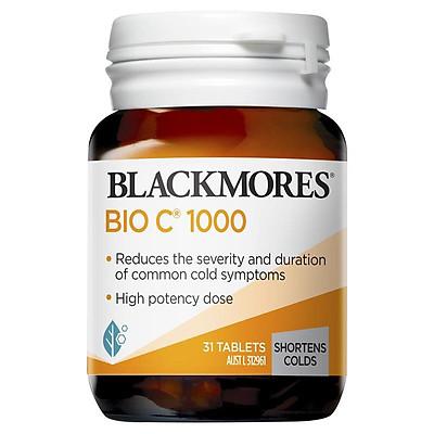 Blackmores Bio C 1000mg 31 Tablets Vitamin C