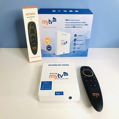 Android tivi Box MyTV NET 2GB bản 2019 4K utra, điều khiển giọng nói 1 chạm - HÀNG CHÍNH HÃNG