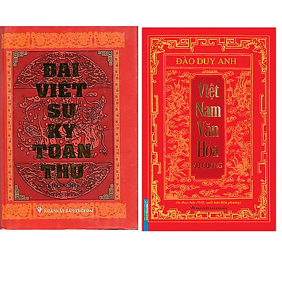 Combo Đại Việt Sử Ký Toàn Thư Trọn Bộ (Tái Bản 2020)+Việt Nam Văn Hóa Sử Cương (In Theo Bản 1938 , Xuất Bản Bốn Phương)