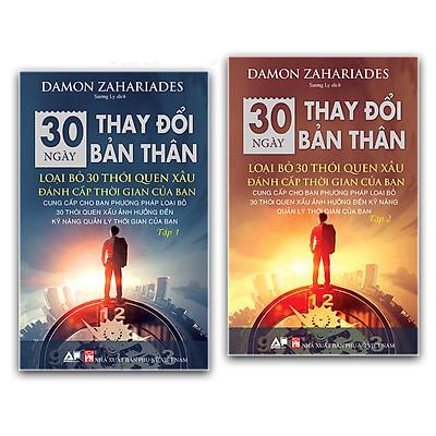 Sách 30 Ngày Thay Đổi Bản Thân Full Tập 1 và 2  - Loại Bỏ 30 Thói Quen Xấu Đánh Cắp Thời Gian Của Bạn