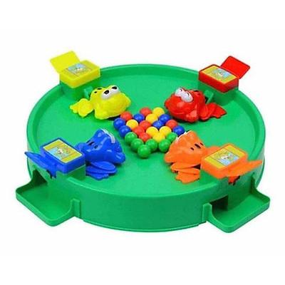 Đồ chơi ếch xanh ăn bi - Trò chơi gia đình 4 người vận động