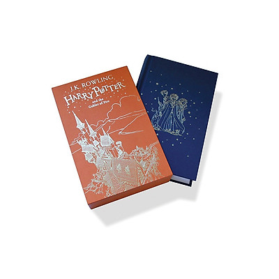Harry Potter Part 4: Harry Potter And The Goblet Of Fire (Hardback) Gift Edition (Harry Potter và Chiếc cốc lửa) (English Book)