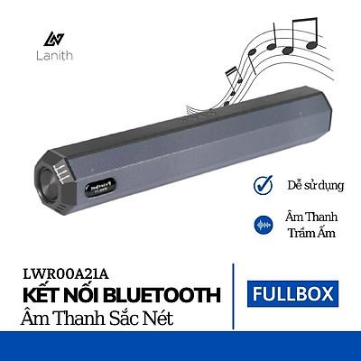 Loa bluetooth Speaker A21 Lanith hỗ trợ TF,đài FM,USB,BT,AUX 3.5 kiểu dáng sang trọng âm thanh chuẩn Bass mạnh – Hàng nhập khẩu - LWR00A21