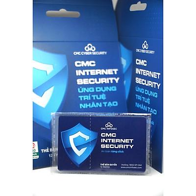 Phần mềm diệt virus CMC Internet Security 12 tháng - Chính hãng