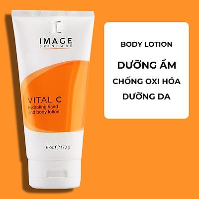Kem Dưỡng Ẩm Da Tay Và Body - Image Vital C Hydrating Hand and Body Lotion 170g