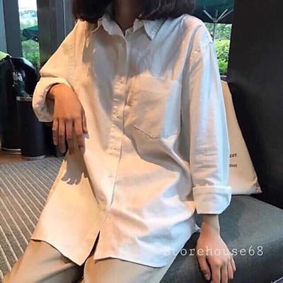 Áo sơ mi một túi Tr&Đ( shop bán áo sơ mi trắng nữ đẹp )