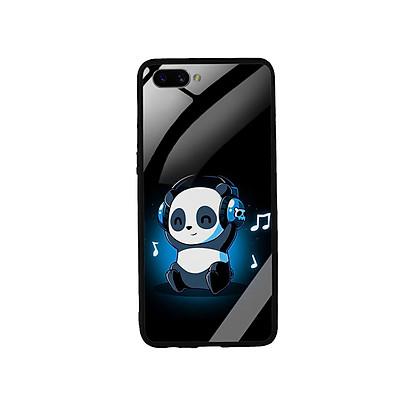 Ốp Lưng Kính Cường Lực cho điện thoại Realme C1 - 0334 PANDA05