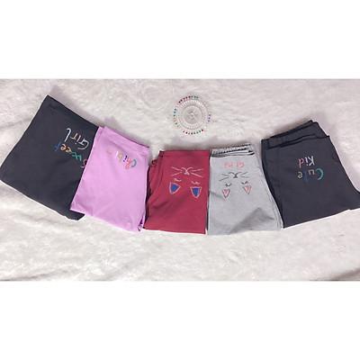Quần legging bé gái từ 20 đến 53 kg quần leg bé gái đùi ,quần legging thun lửng co giãn 4 chiều cho bé và mẹ từ 20 đến 52 kg. quần leging đôi cho cả mẹ và bé