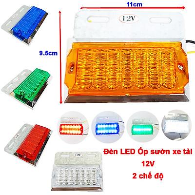 Đèn led ốp sườn hông xe tải và Container 2 chế độ loại công suất 12V-24V siêu sáng Green Networks Group ( 1 đèn )