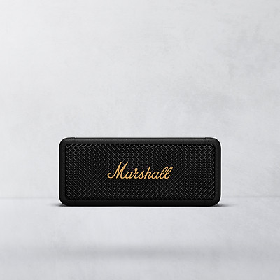 Loa Di Động Marshall Emberton Black & Brass - Hàng Chính Hãng