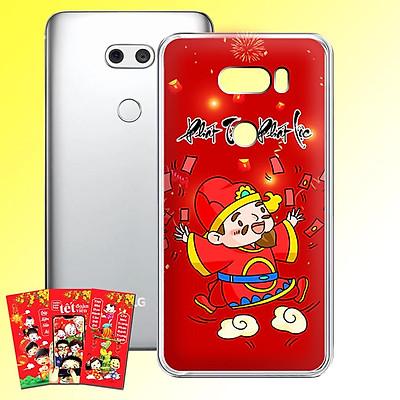 Ốp lưng điện thoại LG V30 - 01253 7953 HPNY2020 07 - Tặng bao lì xì Chúc Mừng Năm Mới - Silicon dẻo - Hàng Chính Hãng