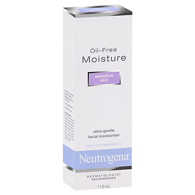 Neutrogena Oil-free Moisture Sensitive Skin Facial Moisturiser 118 mL