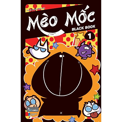 Sách - Mèo Mốc Black Book - tập 1