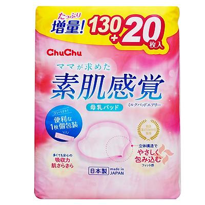 Miếng Lót Thấm Sữa ChuChu Baby Milk Pad Airy (130 Miếng)