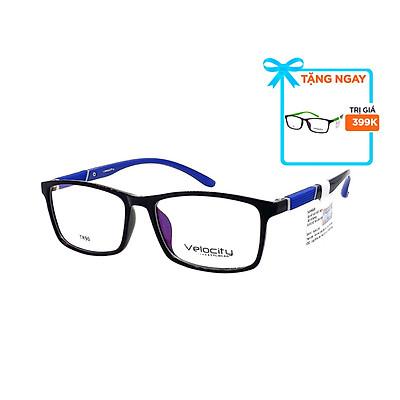 Gọng kính, mắt kính chính hãng Velocity VL36458 992 - Tặng 1 gọng kính