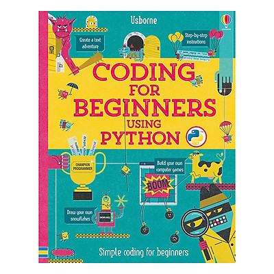 Sách tiếng Anh - Usborne Coding for Beginners using Python
