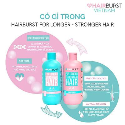 Combo Hairburst Set Gội Xả 350ml/Chai và Kẹo Dẻo Vitamin Kích Thích Mọc Tóc  Chewable Hair Vitamins 60gr/lọ - Bộ chăm sóc tóc Hãng hairburst |  MyPhamTONA.com