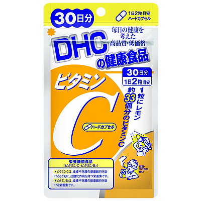Thực phẩm bảo vệ sức khỏe Viên uống DHC bổ sung vitamin C Nhật Bản