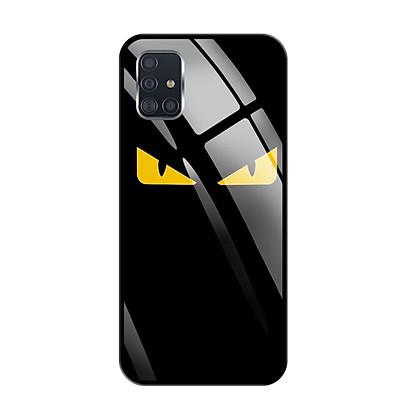 Ốp lưng kính cường lực cho Samsung Galaxy A51 - 03094 0160 MONSTER02 - Hàng Chính Hãng