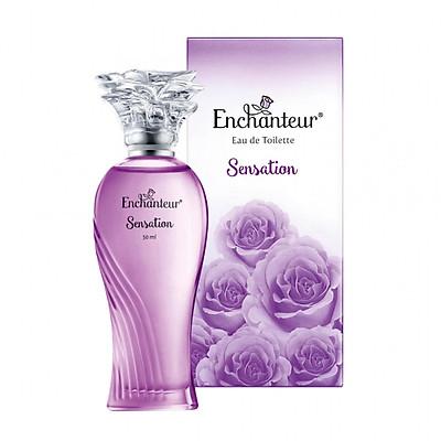 Nước hoa cao cấp Enchanteur Sensation gợi cảm tinh tế 50ml