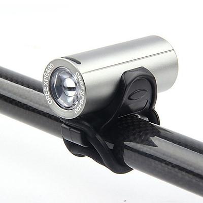 Đèn Trước Xe Đạp Nhỏ Gọn Sáng Mạnh 350 Lumens Sạc Điện USB Với Bóng Led Cree Giúp Trợ Sáng Xe Đạp Đi Đêm Mai Lee