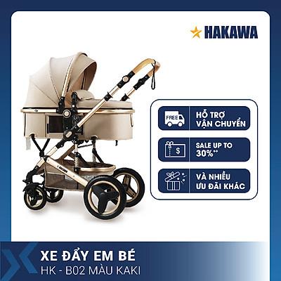 XE ĐẨY EM BÉ CAO CẤP HAKAWA HK-B02 - HÀNG CHÍNH HÃNG