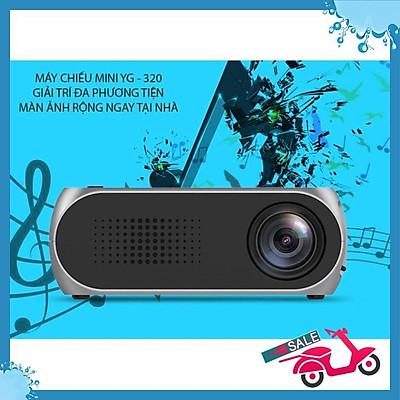 Máy chiếu mini YG - 320 HD 720P, giải trí đa phương tiện ngay tại nhà