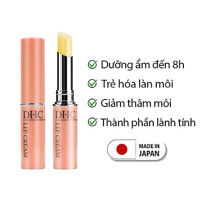 Son dưỡng môi DHC Nhật Bản Lip Cream giữ ẩm môi, giảm thâm và trẻ hóa môi JN-DHC-LIP